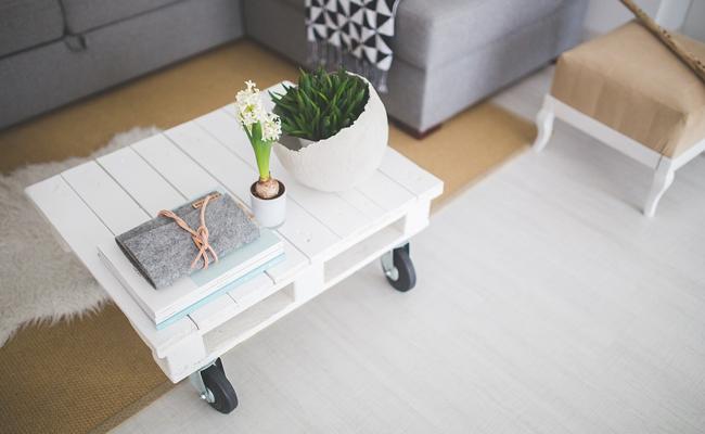 Construire une table basse en palette