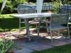 Une table de jardin en aluminium pour éviter la rouille prématurée
